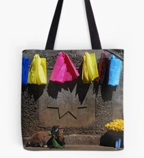 The grass is greener Tote Bag