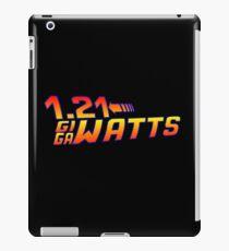 Back To The Future 1.21 GIGAWATTS iPad Case/Skin