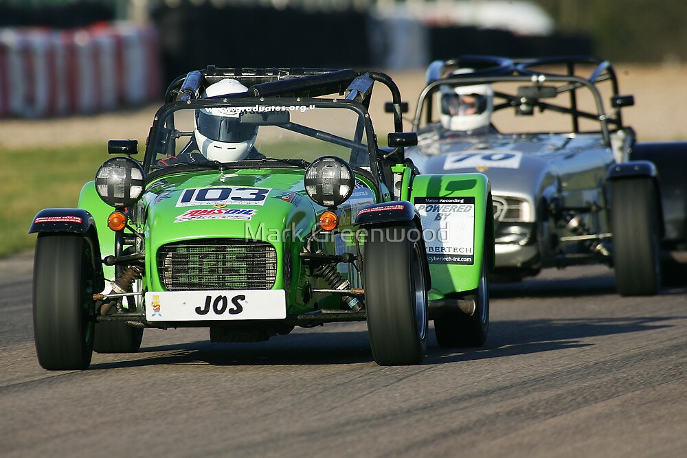 Caterham, Mallory Park by Mark Greenwood