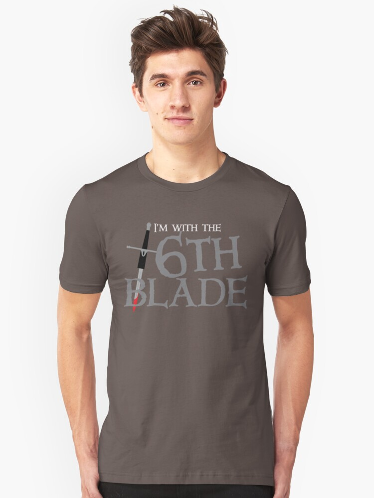 BRIDGE BURNERS I'm with the 6th SIXTH blade ARMY Sigil  Unisex T-Shirt Front