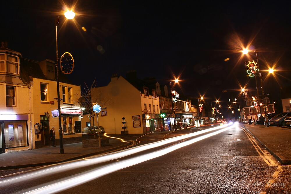Inverkeithing by Night by Alex Young