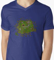 Old School RuneScape Tutorial Island Men's V-Neck T-Shirt