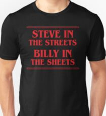 Steve In The Streets Billy In The Sheets Unisex T-Shirt