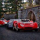Vintage Race Cars 'Castle Rally' by DaveKoontz
