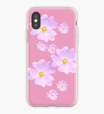 Pale Pink Flower iPhone Case