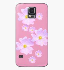 Funda/vinilo para Samsung Galaxy Flor rosa pálida