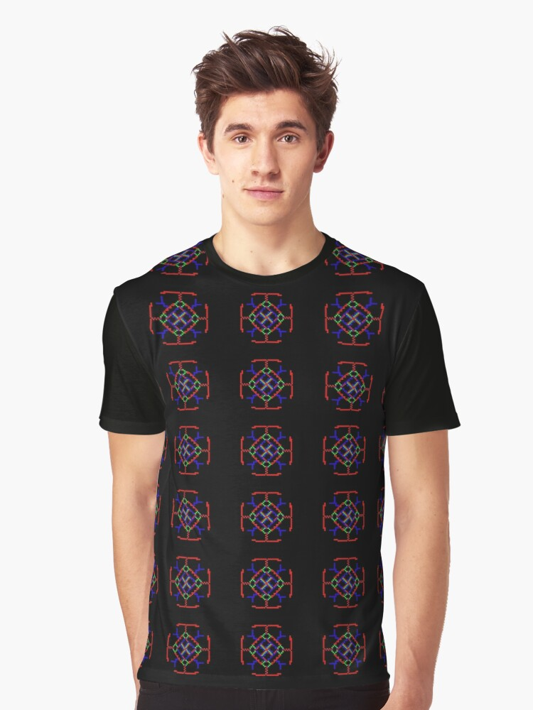 Windows93 Graphic T-Shirt Front