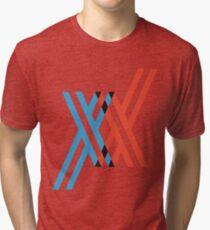 Darling in the FranXX - XX Tri-blend T-Shirt