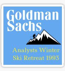 Goldman Sticker