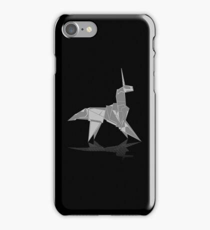 Origami Unicorn iPhone Case/Skin