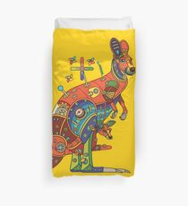 Kangaroo, from the AlphaPod collection Duvet Cover