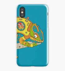 Chameleon, from the AlphaPod collection iPhone Case