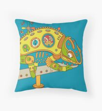 Chameleon, from the AlphaPod collection Throw Pillow