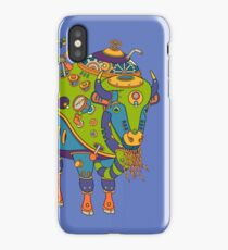 Bison, from the AlphaPod collection iPhone Case