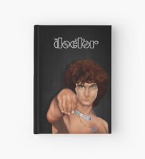 time lord with screwdriver Hardcover Journal