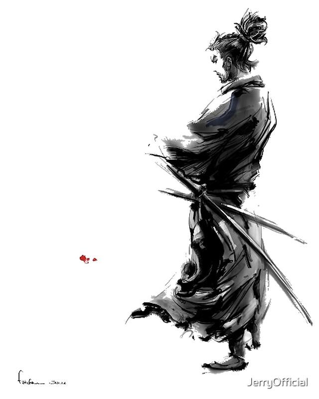 """Vagabond Miyamoto Musashi: """"Miyamoto Musashi (Vagabond)"""" Art Prints By JerryOfficial"""