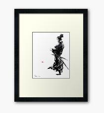 Miyamoto Musashi (Vagabond) Framed Print