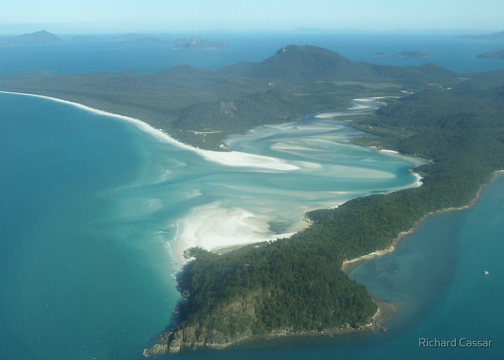 Hill Inlet- Whitsundays by Richard Cassar