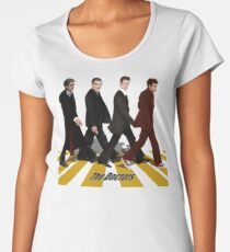 walk together at abbey road Women's Premium T-Shirt