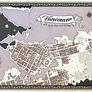 Vancouver Fantasy Map by chaoslindsay