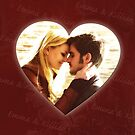 Captain Swan Heart Design 4 by Marianne Paluso