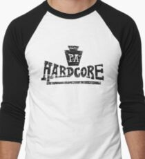 Pennsylvania Hardcore Men's Baseball ¾ T-Shirt