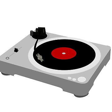 Vinyl Record Player Turntable by mkybb