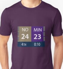 Vikings vs Saints 2018 Unisex T-Shirt