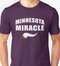 Minnesota Miracle Football Vikings Touchdown Unisex T-Shirt
