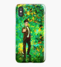 11th Doctor Abstract iPhone Case/Skin