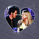 Captain Swan Heart Design 1 by Marianne Paluso