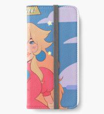 Princess Peach - Get A Life iPhone Wallet/Case/Skin