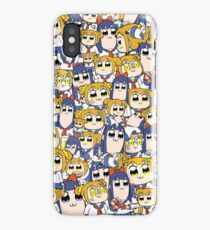 Pop Team Epic - Popuko & Pipimi Collage iPhone Case