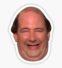 kevin face Sticker