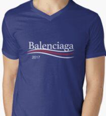 Bernie Balenciaga Campaign Logo 2017 Men's V-Neck T-Shirt