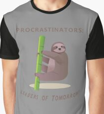 Procrastinators Unite Graphic T-Shirt