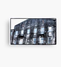 Old River Street Canvas Print