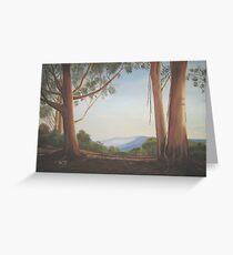 Jamison Valley, Blue Mountains, Australia Greeting Card