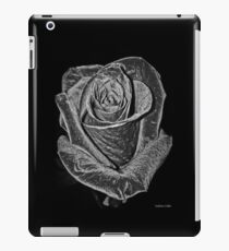 Silver Rose iPad Case/Skin
