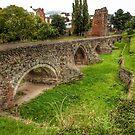 Exeter Medieval Bridge by hans p olsen