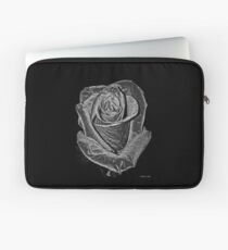 Silver Rose Laptop Sleeve