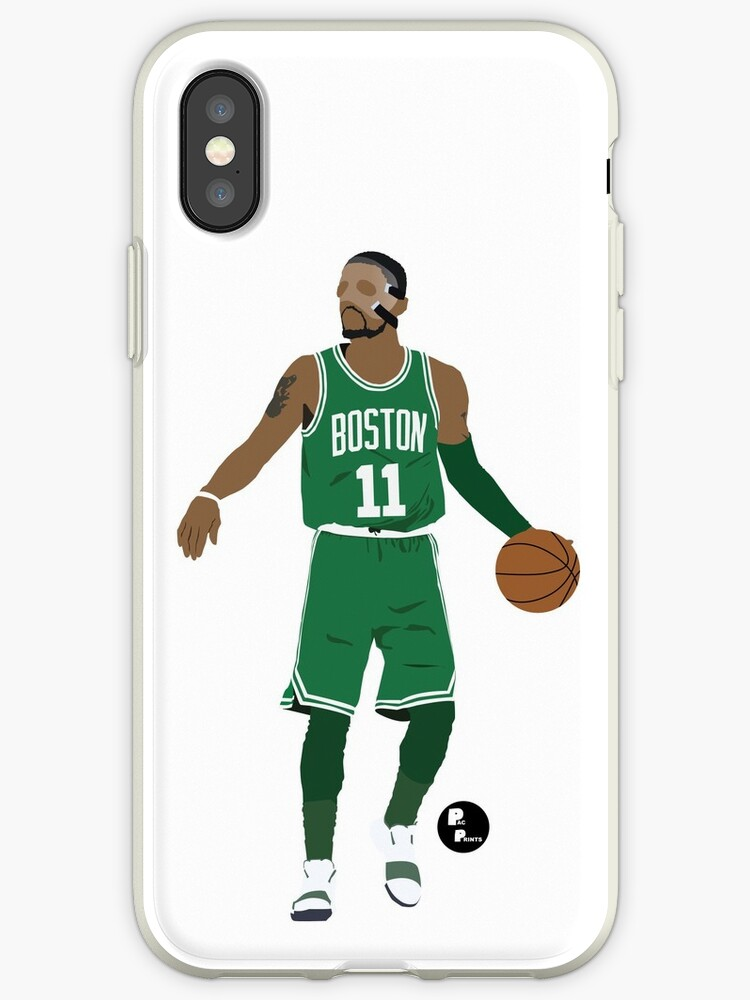 ab3384720 'Kyrie Irving Minimalist Art 'Masked Kyrie' // Phone case, t-shirt,  stickers and more' iPhone Case by PacPrints