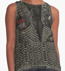 Punk clothing style jacket ideas Contrast Tank