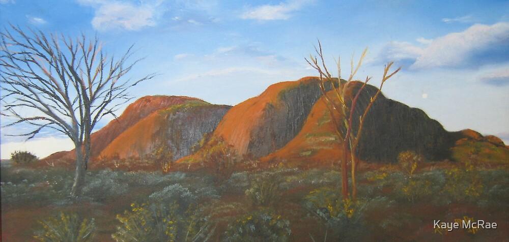 Mt Olga, Kata Tjuta by Kaye McRae
