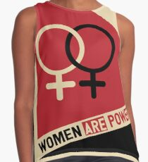 Women on the march Contrast Tank