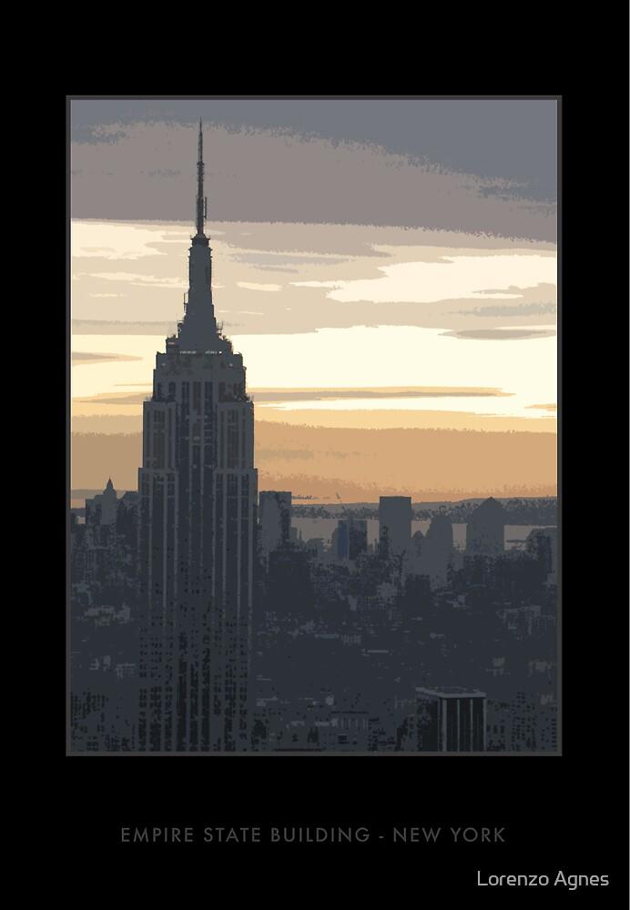Empire State Building, New York by zodezine
