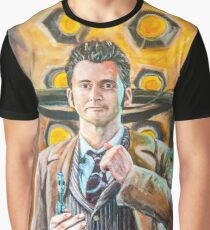 The Tenth Doctor - David Tennant portrait Graphic T-Shirt