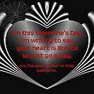 Go Away Valentine by joanw