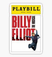 Billy Elliot Playbill Sticker