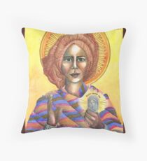[Icon] St. Josephine Bakhita Throw Pillow